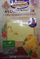 Ser Włoszczowski plastrowany typu Szwajcarskiego. Ser podpuszczkowy, dojrzewający - Product - pl
