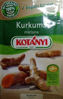 Kurkuma mielona - Produkt