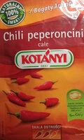 Chili peperoncini całe - Produkt - pl