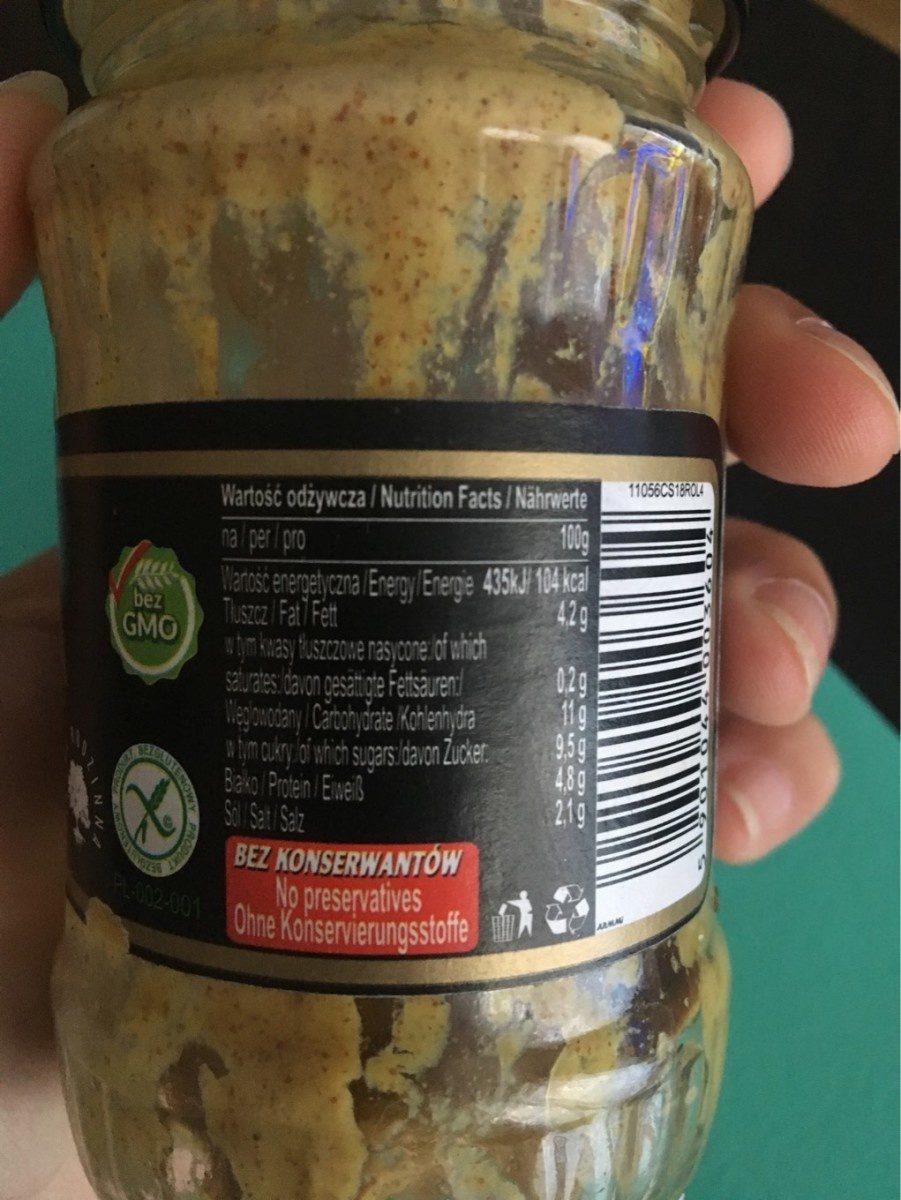 Musztarda delikatesowa chrzanowa - Informations nutritionnelles