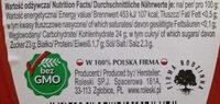 Ketchup łagodny markowy - Wartości odżywcze