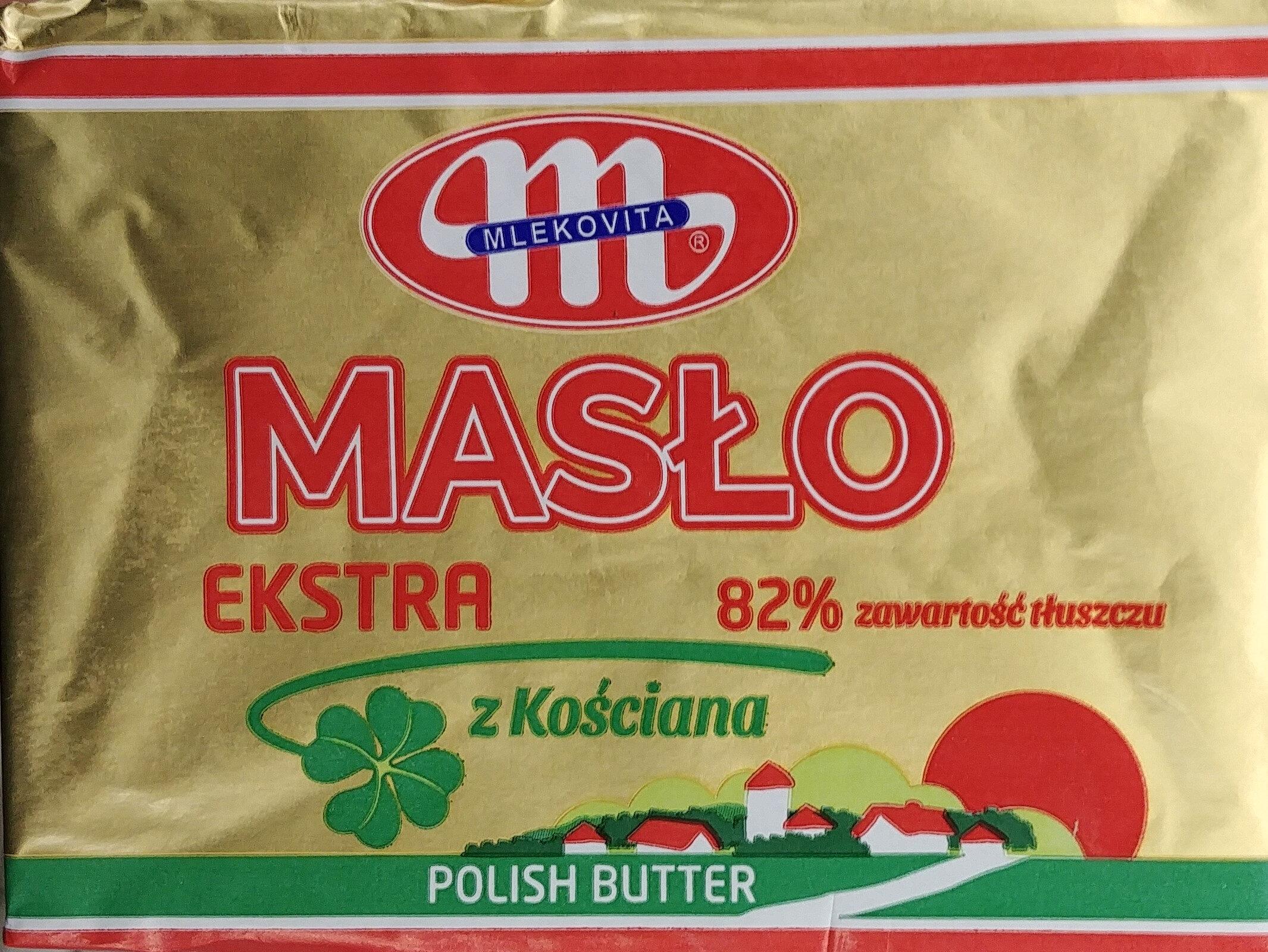 Masło ekstra z Kościana - Produkt - pl