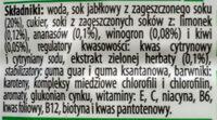 Dr witt multivitamin - Ingredients - pl