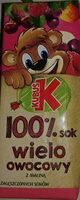 Sok wieloowocowy z zagęszczonych soków. - Produkt - pl