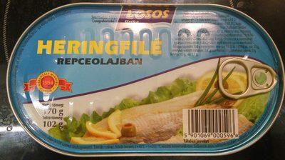 Heringfilé repceolajban - Product - hu