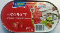 Szprot w sosie pomidorowym. - Produkt