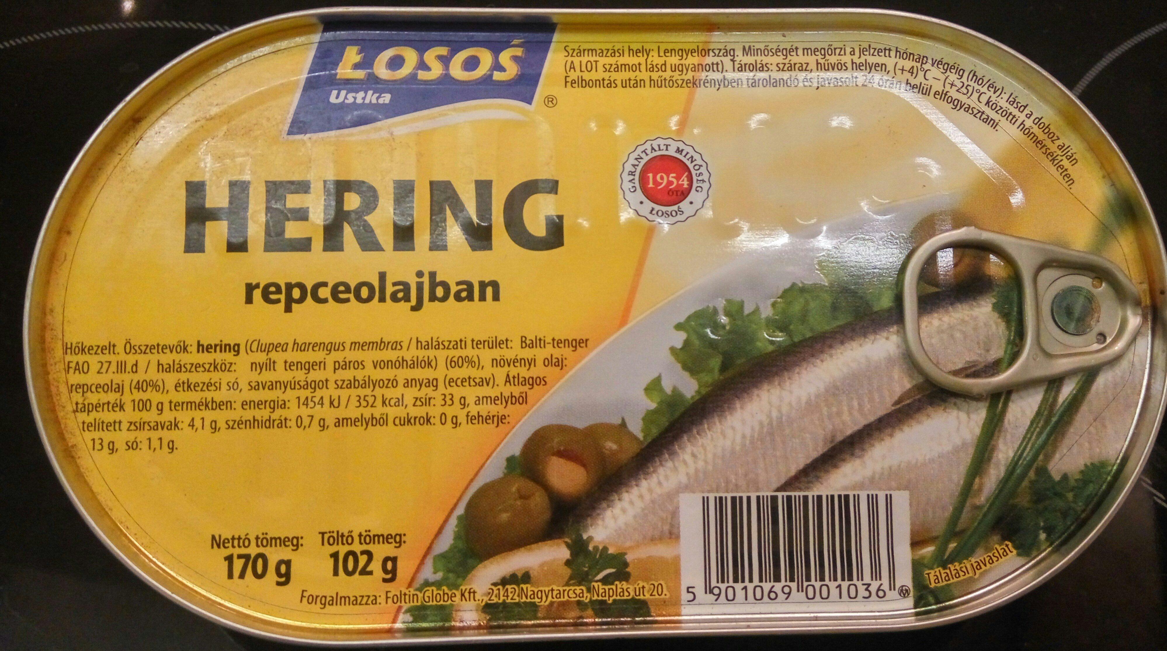 Hering repceolajban - Product - hu