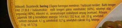 Hering repceolajban - Ingrediënten - hu