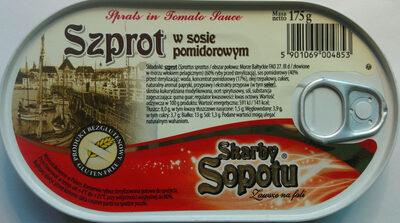 Szprot w sosie pomidorowym. - Product - pl