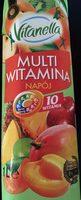Napój wieloowocowy, częściowo z soków zagęszczonych, źródło 10 witamin - Produkt