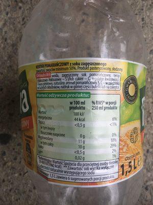 Nektar pomarańczowy - Produkt