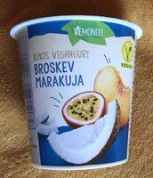 Kokos vegangurt - broskev marakuja - Produit - cs