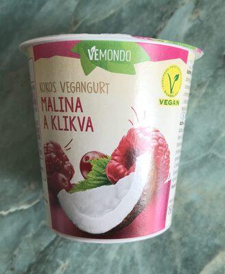 Vegangurt malina a klikva - Produit - cs