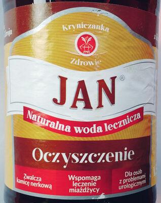 Woda lecznicza z Krynicy-Zdroju - Produkt