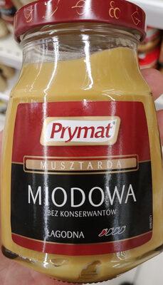 Musztarda miodowa - Produkt - pl