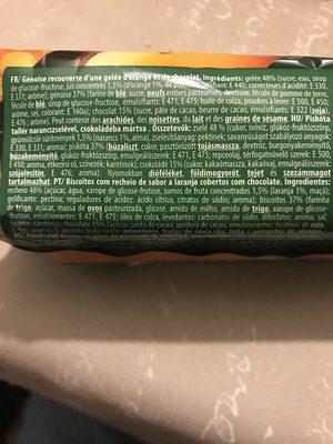Party jaffa cakes orange - Ingrediënten - fr