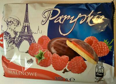 Biszkopty z galaretką malinową w czekoladzie - Produkt
