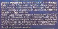 Edle Matjesfilets nach nordischer Art - Zutaten - de