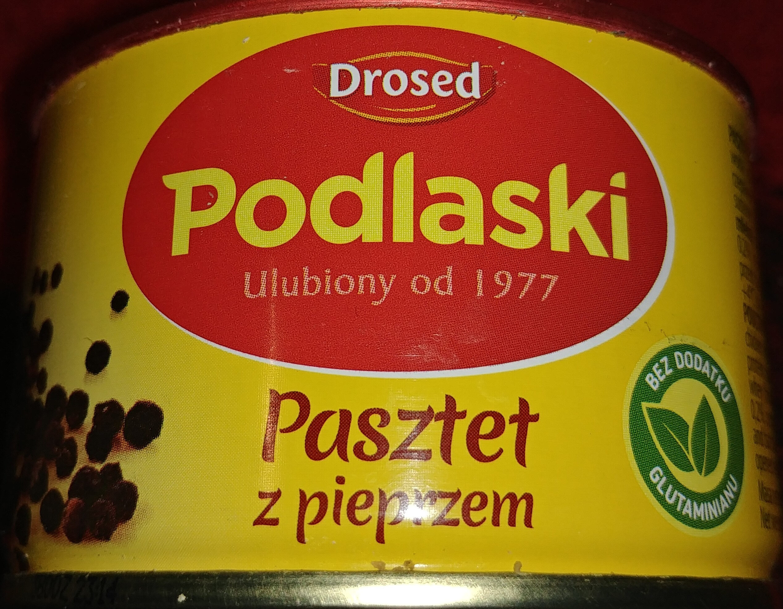 Pasztet drobiowy z pieprzem - Produkt - pl