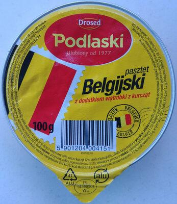Pasztet Belgijski z dodatkiem wątróbki z kurcząt - Składniki - pl