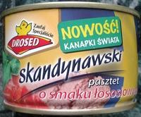 Skandynawski pasztet o smaku łososiowym - Produkt - pl