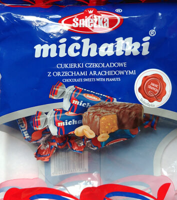 Cukierki czekoladowe z orzechami arachidowymi - Produkt - pl