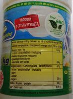 Maślanka naturalna - Wartości odżywcze