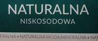 Naturalna woda mineralna - Składniki - pl