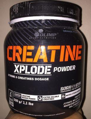 Creatin Xplode Powder - Produit - fr