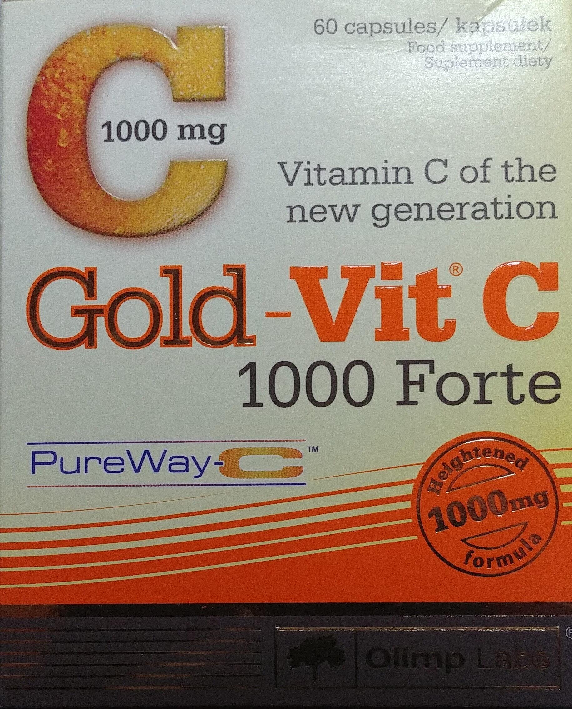 Gold-Vit C, 1000 Forte - Produkt - pl
