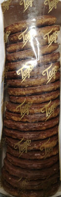 Ciasteczka owsiane polane czekoladą mleczną - Product - pl