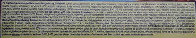 Ciasteczka owsiane polane czekoladą mleczną - Ingrediënten - pl