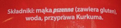Makaron Nadarzyński - Składniki - pl