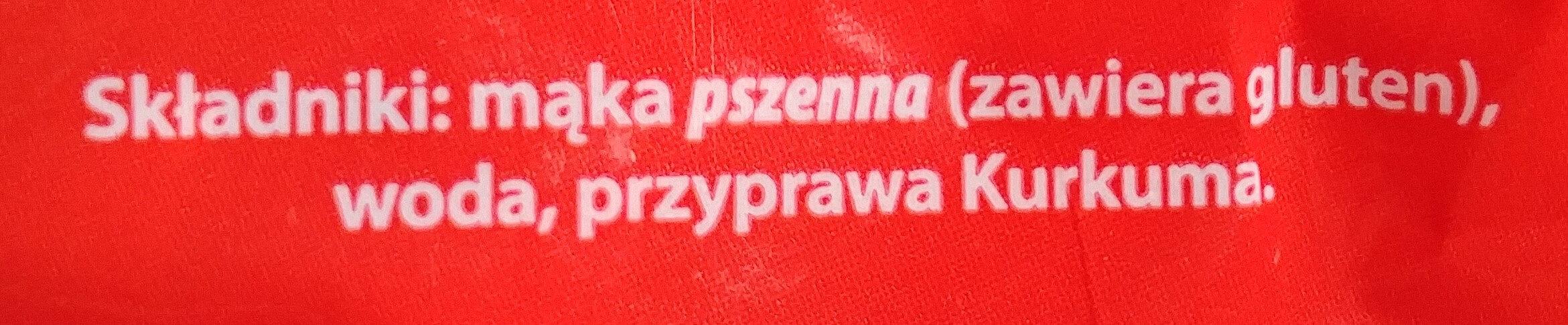Makaron Nadarzyński rurka - Składniki