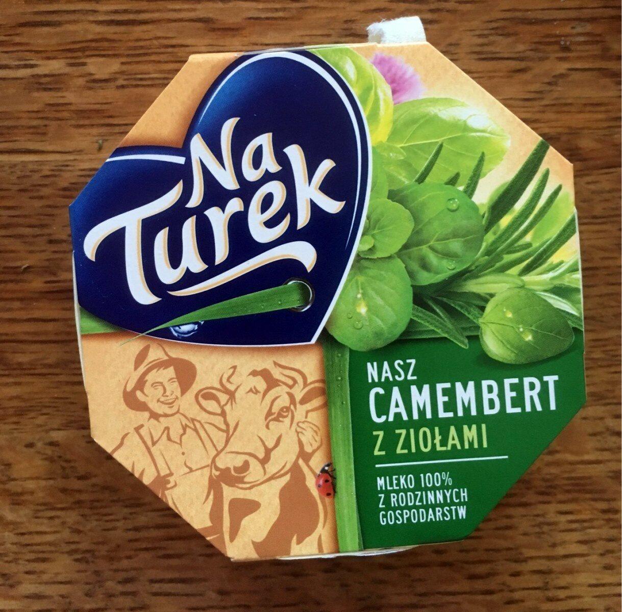 Ser pleśniowy camembert z ziołami - Produkt - pl