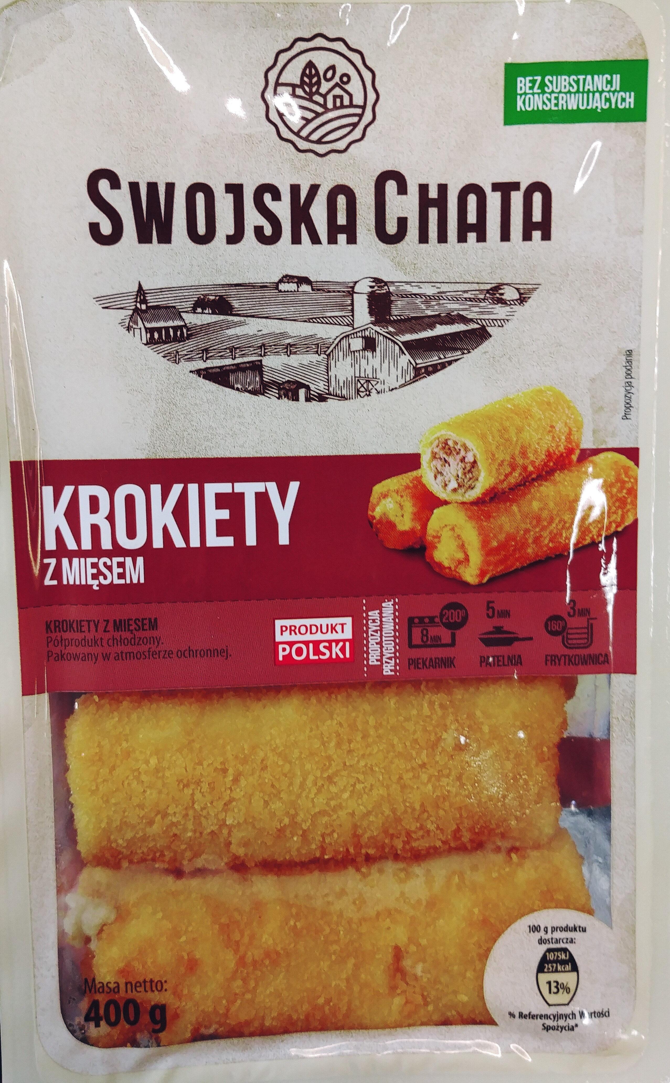 Krokiety z mięsem - Produkt - pl