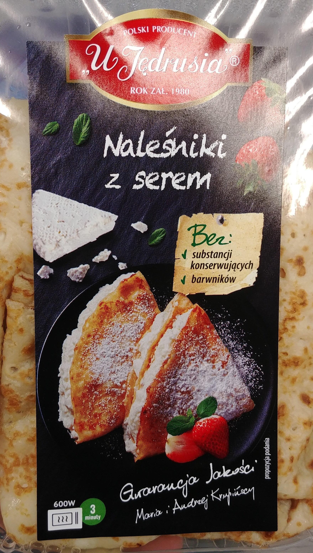 Naleśniki z serem twarogowym - Produkt - pl