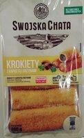 Krokiety z kapustą i grzybami - Produkt