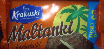 Herbatniki w masie czekoladopodobnej (49%) - Produkt - pl