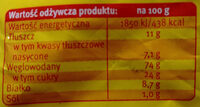 Herbatniki maślane - Nutrition facts