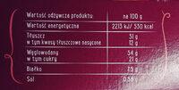 Herbatniki z kawałkiami orzechów laskowych (12%) - Wartości odżywcze - pl