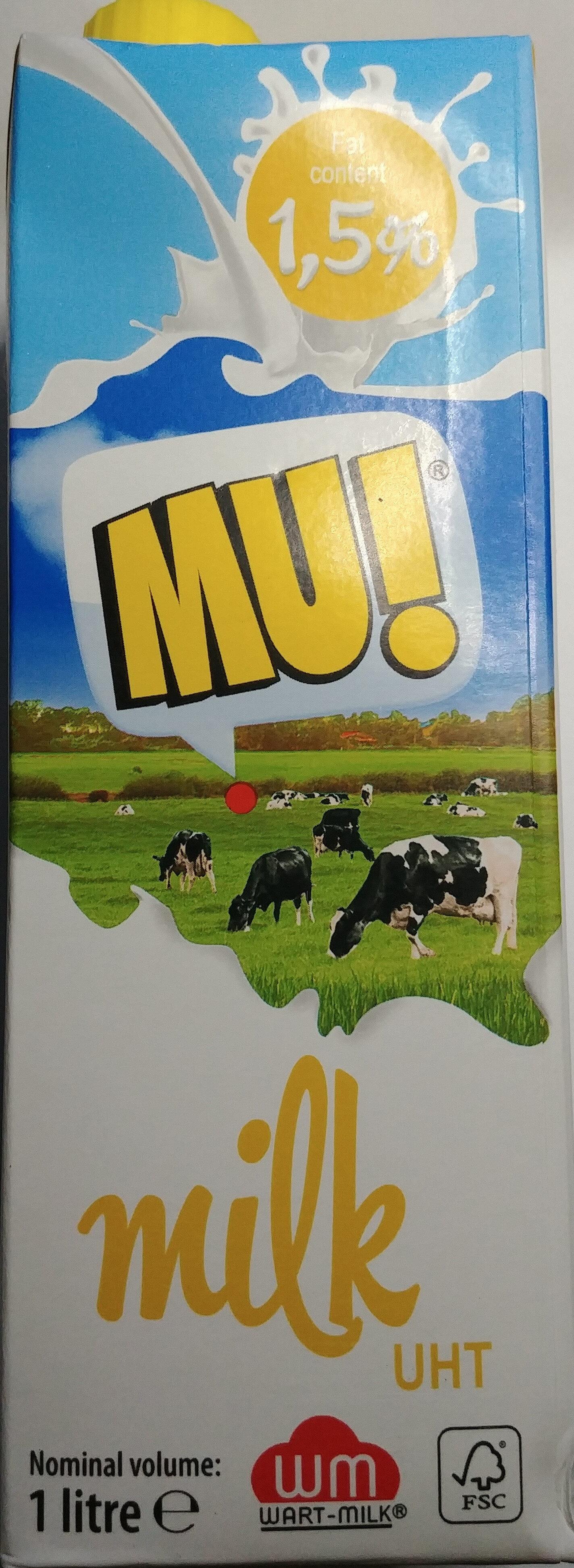 Mleko UHT 1,5 % - Produkt - pl