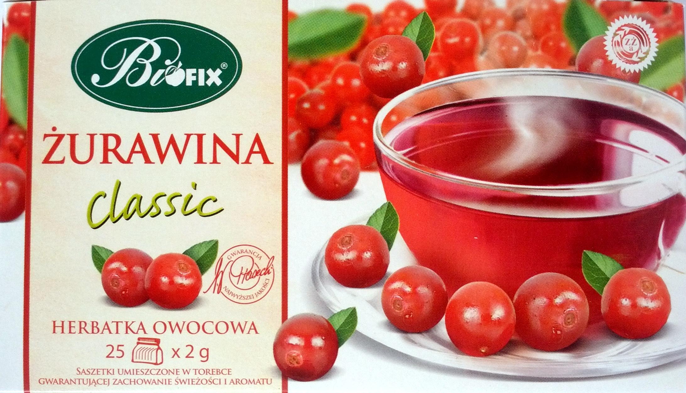 Biofix Herbata Żurawina - Product - pl