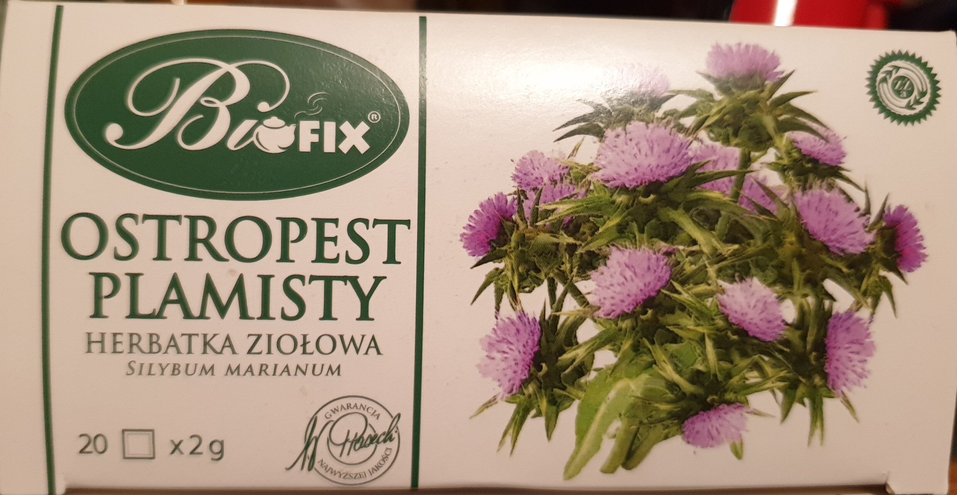 Ostropest plamisty - Product - pl