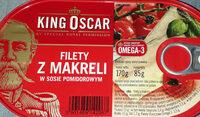 Filety z makreli w sosie pomidorowym - Produkt - pl