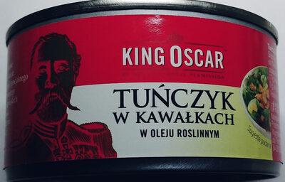 Tuńczyk w kawałkach w oleju roślinnym - Product - pl