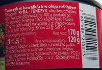Tuńczyk w kawałkach w oleju roślinnym - Ingredients - pl