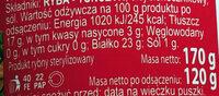 Tuńczyk w kawałkach w oleju roślinnym - Nutrition facts - pl