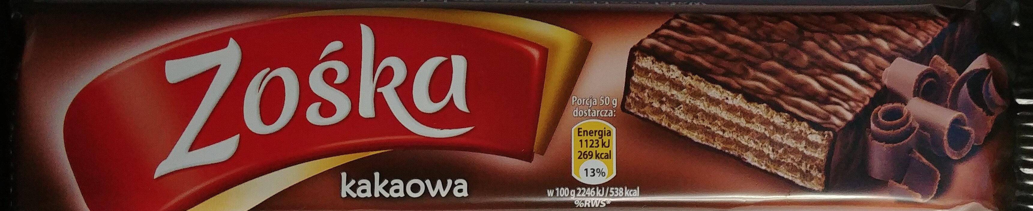 Wafel przekładany kremem kakaowym w czekoladzie - Product - pl