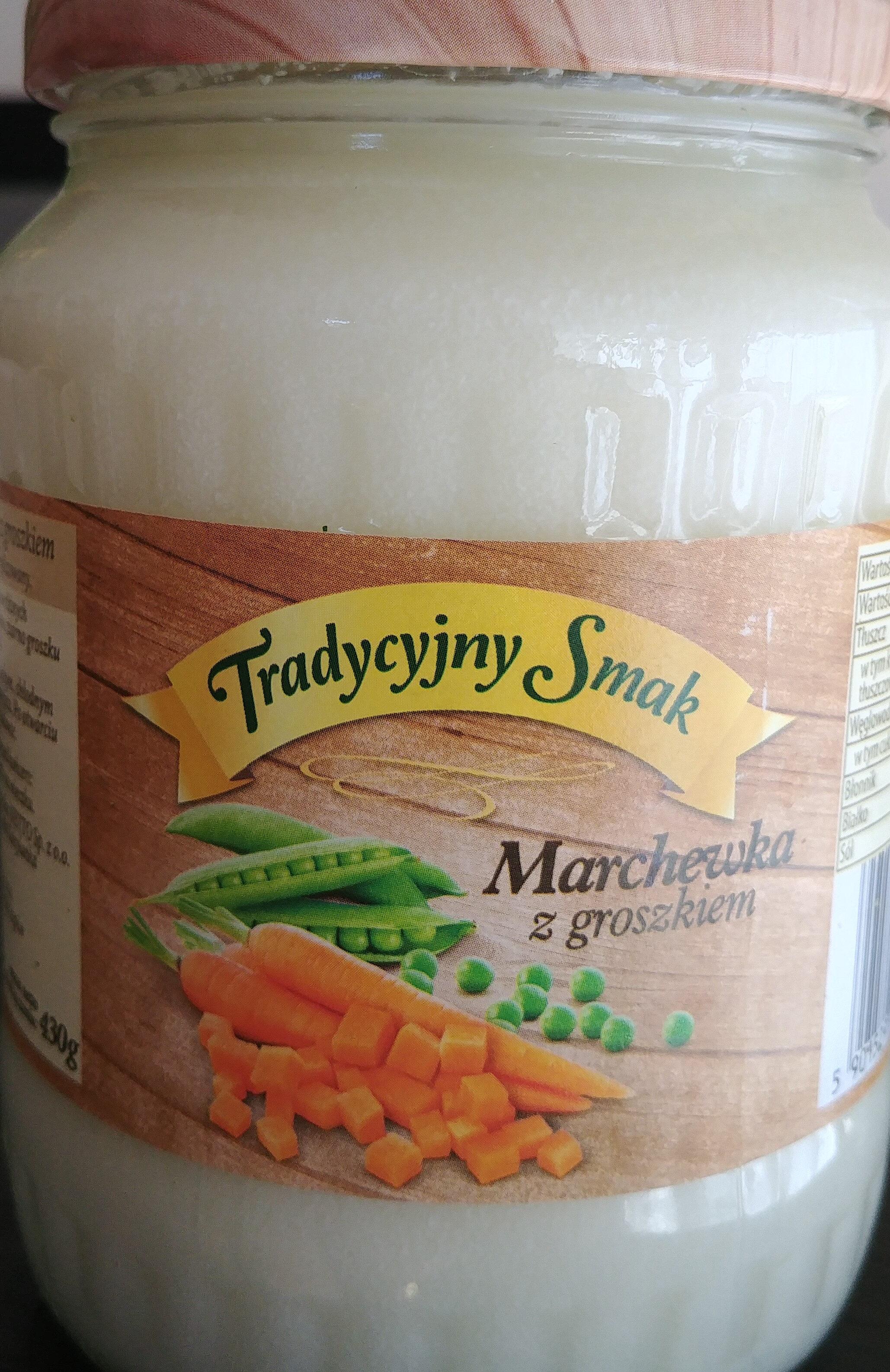 Marchewka z groszkiem - Produkt